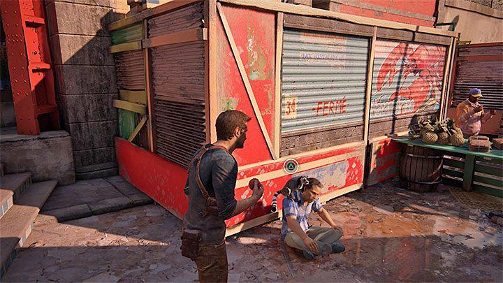 Możesz już wyruszyć w stronę dalszej części targowiska - 11 - Najciemniej pod latarnią - Opis przejścia - Uncharted 4: A Thiefs End - poradnik do gry