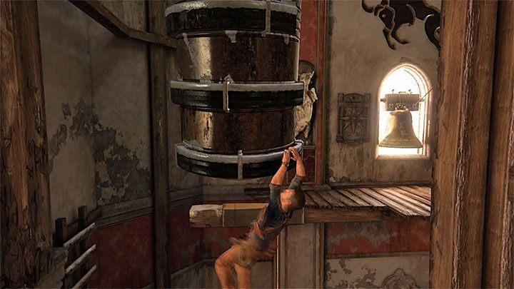 Zainteresuj się nowymi zębatkami zlokalizowanymi po lewej stronie - 11 - Najciemniej pod latarnią - Opis przejścia - Uncharted 4: A Thiefs End - poradnik do gry