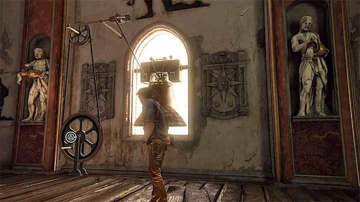 Znalazłeś się teraz w pobliżu mechanizmu byka i jako że jest on ostatni na liście musisz go zignorować - 11 - Najciemniej pod latarnią - Opis przejścia - Uncharted 4: A Thiefs End - poradnik do gry