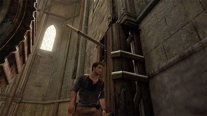 Głównym założeniem drugiej części wspinaczki jest dotarcie do pokazanego na niedawnym filmiku głównego, największego dzwonu wieży zegarowej - 11 - Najciemniej pod latarnią - Opis przejścia - Uncharted 4: A Thiefs End - poradnik do gry