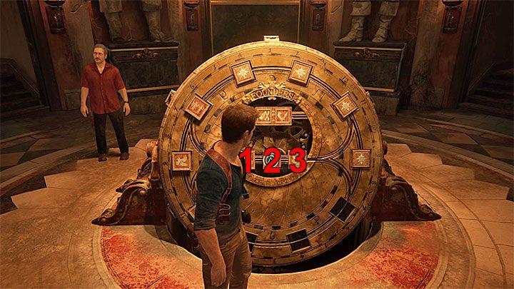 Po zlokalizowaniu wszystkich znaków na obrazach otwórz dziennik Natea - 11 - Najciemniej pod latarnią - Opis przejścia - Uncharted 4: A Thiefs End - poradnik do gry