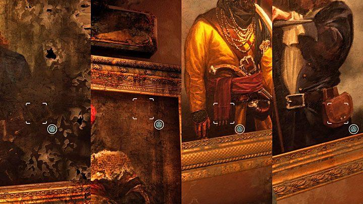 Na Kole Założycieli pojawią się cztery nowe symbole i tak jak wcześniej musisz rozpocząć od sfotografowania ich - 11 - Najciemniej pod latarnią - Opis przejścia - Uncharted 4: A Thiefs End - poradnik do gry