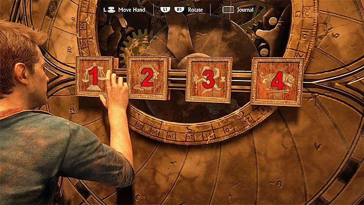 Możesz już powrócić do Koła Założycieli i zacząć wchodzić w interakcję z pieczęciami - 11 - Najciemniej pod latarnią - Opis przejścia - Uncharted 4: A Thiefs End - poradnik do gry