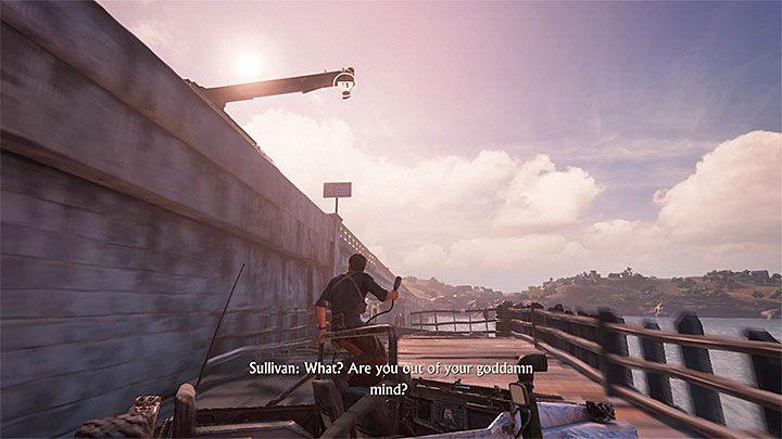 Gra załączy krótki filmik pokazujący Sama uciekającego na motocyklu przed pościgiem - 11 - Najciemniej pod latarnią - Opis przejścia - Uncharted 4: A Thiefs End - poradnik do gry