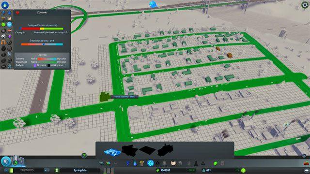 Wraz ze zdobyciem kolejnych kamieni milowych otrzymujesz dostęp do nowych typów budynków - Budowa kolejnych usług: klinika, szkoła - Zbuduj pierwsze miasto - Cities: Skylines - poradnik do gry