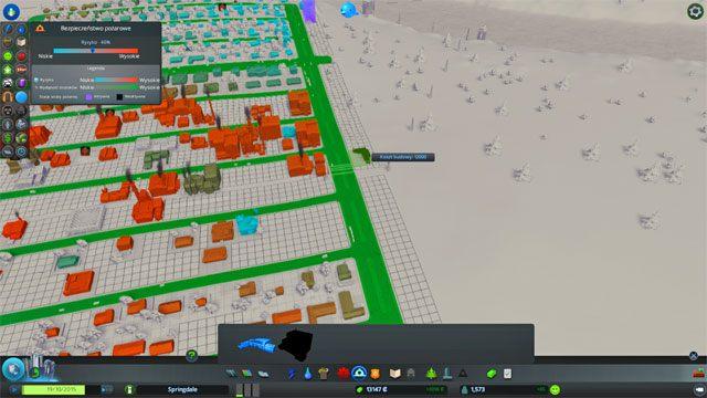 Jeden posterunek policji jest wystarczający dla miasta liczącego 2000-3000 mieszkańców - Budowa usług bezpieczeństwa: policja i straż pożarna - Zbuduj pierwsze miasto - Cities: Skylines - poradnik do gry