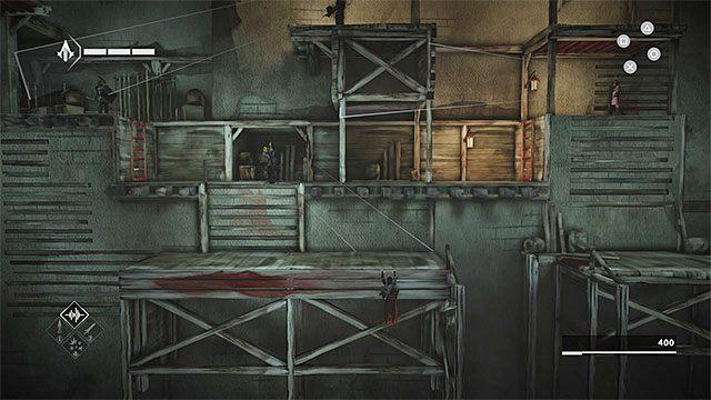 Ominięcie kolejnych wartowników może okazać się dość kłopotliwe - Sekwencja 4 - Łowca niewolników (The Slaver) - Assassins Creed Chronicles: China - poradnik do gry