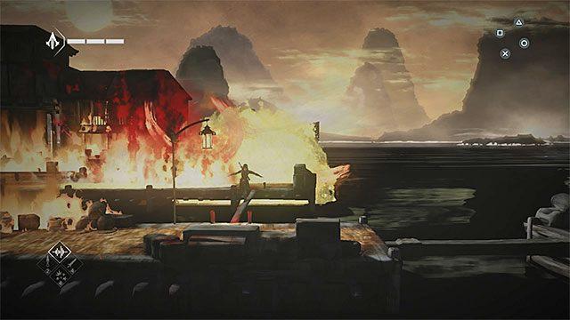 Zabij nowego wartownika i rozpocznij wspinaczkę z wykorzystaniem sieci rybackich - Sekwencja 5 - Konsekwencje (Consequences) - Assassins Creed Chronicles: China - poradnik do gry