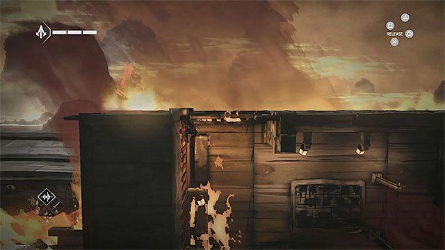 Podążaj w prawo i przeskakuj nad płonącymi dziurami - Sekwencja 5 - Konsekwencje (Consequences) - Assassins Creed Chronicles: China - poradnik do gry