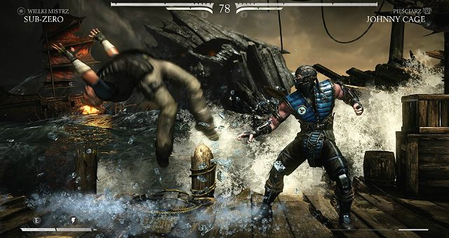 W Mortal Kombat X funkcjonuje Soft knockdown i Hard knockdown - Knock down czyli o upadaniu słów kilka - System - Mortal Kombat X - poradnik do gry