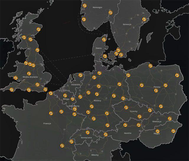 Wraz z nowymi obszarami gry pojawiły się w nich nowe agencje pracy - Agencje pracy - Elementy gry - Euro Truck Simulator 2: Skandynawia - poradnik do gry