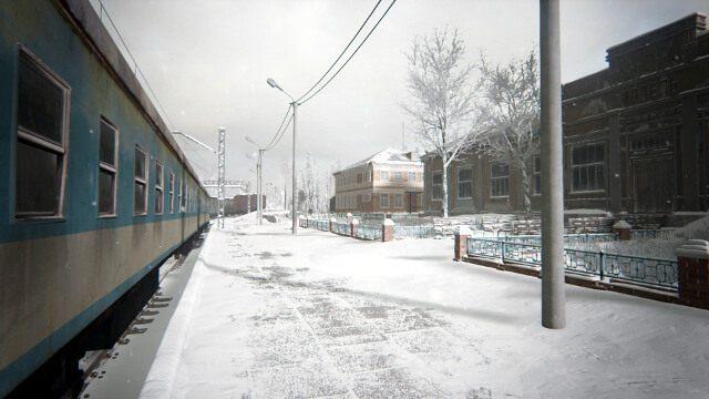 Grę rozpoczniesz na stacji kolejowej - Akt I - opis przejścia - Kholat - poradnik do gry