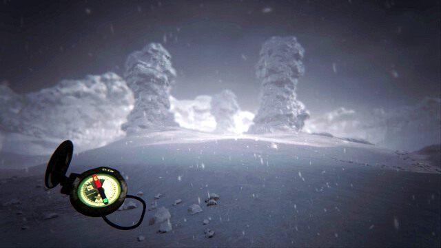 Między kamieniami znajdziesz mały krater, a w nim pierwszą stronę dziennika - Kamienny krąg - Akt II - opis przejścia - Kholat - poradnik do gry