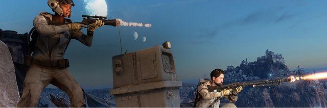 W trybie Pogoń za droidami walka toczy się pomiędzy drużynami sześcioosobowymi na stosunkowo małych mapach - Pogoń za droidami - Tryby gry - Star Wars: Battlefront - poradnik do gry