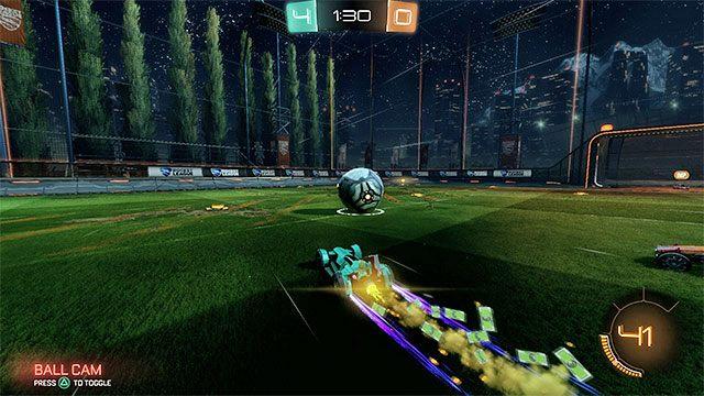 Innym mechanizmem, z którego równie często powinieneś korzystać, jest dopalacz - Podstawowe zagrania - Typy zagrań - Rocket League - poradnik do gry