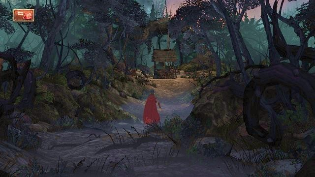 Pierwszy rozdział naszej historii rozpoczynamy w ciemnym lesie - Podziemia - Magiczne lustro - Kings Quest - poradnik do gry