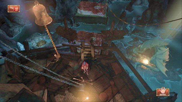Teraz czas przystąpić do finalnego ruchu - Legowisko smoka - Magiczne lustro - Kings Quest - poradnik do gry