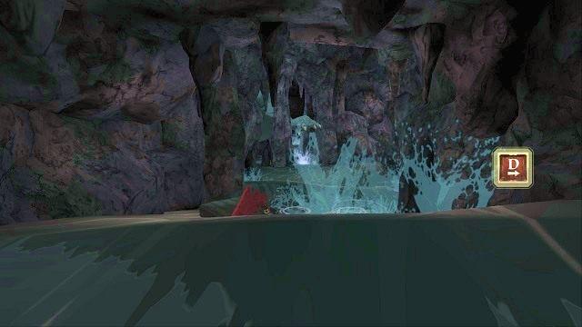 Podobnie będzie z wyskakującymi niespodziewanie klawiszami kierunkowymi - Brawurowa ucieczka - Magiczne lustro - Kings Quest - poradnik do gry