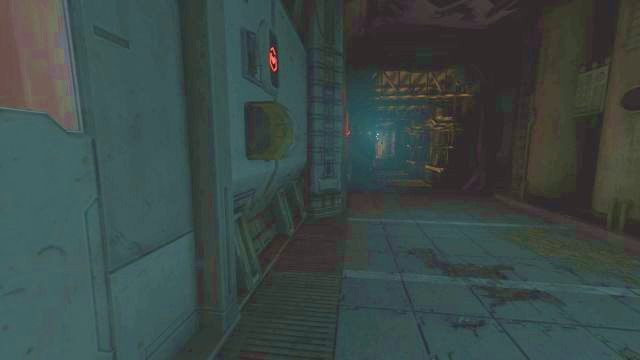 Gdy wszystko się uspokoi, podejdź parę kroków do przodu, do miejsca, w których są drzwi prowadzące na lewo i prawo - 08 - Stacja Lambda - Opis przejścia - SOMA - poradnik do gry