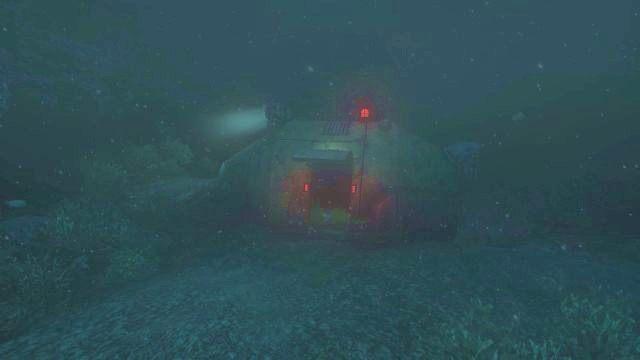 Teraz udać się musisz do małej łodzi ratunkowej (o której wzmianka była w poprzednim rozdziale), która znajduje się centralnie na wprost wyjścia ze stacji Lambda - 08 - Stacja Lambda - Opis przejścia - SOMA - poradnik do gry