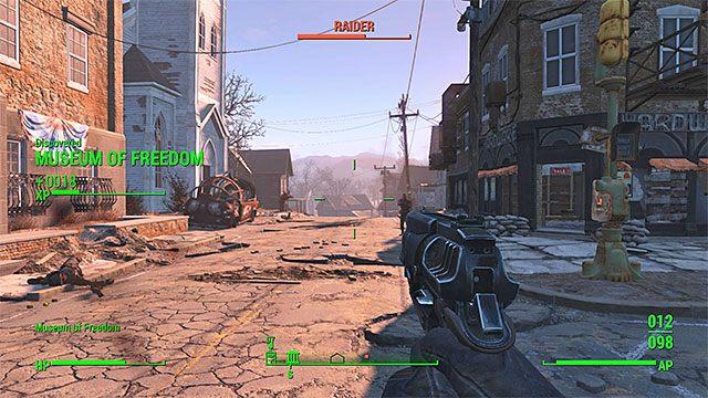 Wyeliminuj bandytów rozstawionych niedaleko muzeum - Powrót z przeszłości | Główny wątek fabularny - Fallout 4 - poradnik do gry