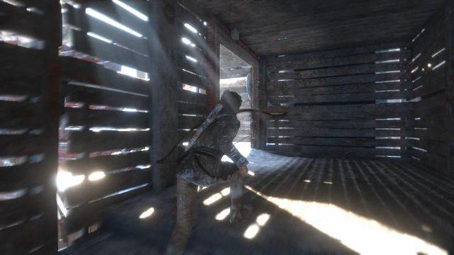 Biegnij korytarzem na samą górę - Dotrzyj do wejścia do kopalni | Znów sama - Rise of the Tomb Raider - poradnik do gry