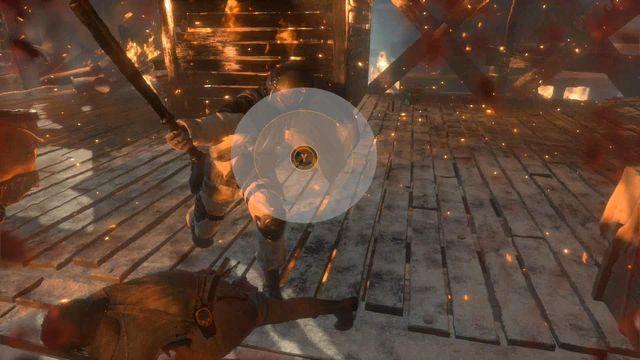 Najskuteczniejszym jednak sposobem ich eliminacji jest wyczekanie odpowiedniej chwili, kiedy żołnierz zamachnie się na Larę pałką - Dołącz do Jacoba | Znów sama - Rise of the Tomb Raider - poradnik do gry