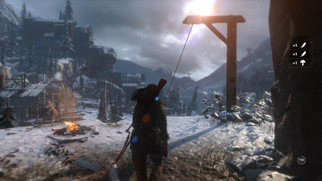 Znajdziesz się w znajomym miejscu - Idź do huty miedzi   Znów sama - Rise of the Tomb Raider - poradnik do gry