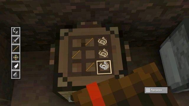 Podczas drogi Reuben nadepnie na pułapkę z zapadnią, po której uruchomią się wyrzutnie strzał - Rozdział 6 | Epizod 1 - The Order of the Stone - Minecraft: Story Mode - poradnik do gry