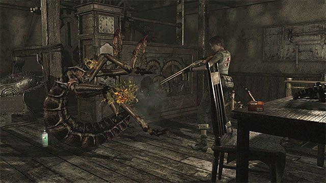 Zabij potwory zanim dopadną Rebeccę - Początek eksploracji | Ośrodek szkoleniowy Umbrella - Resident Evil Zero HD - poradnik do gry
