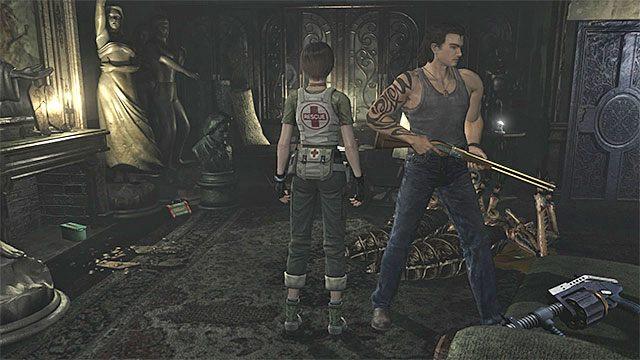 Miejsce odnalezienia granatnika - Początek eksploracji | Ośrodek szkoleniowy Umbrella - Resident Evil Zero HD - poradnik do gry