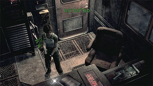 Zabierz kartę magnetyczną z kabiny maszynisty - Powstrzymanie pociągu przed wykolejeniem | Pociąg Ecliptic Express - Resident Evil Zero HD - poradnik do gry