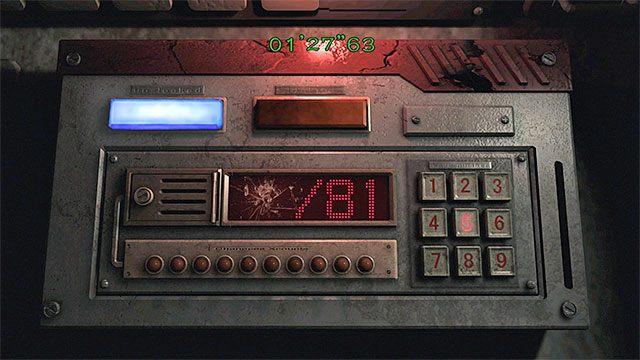 Po rozwiązaniu pierwszej zagadki zostaniesz przełączony na drugą grywalną postać, czyli na tę, która pozostała w kabinie maszynisty (M1,20) - Powstrzymanie pociągu przed wykolejeniem | Pociąg Ecliptic Express - Resident Evil Zero HD - poradnik do gry