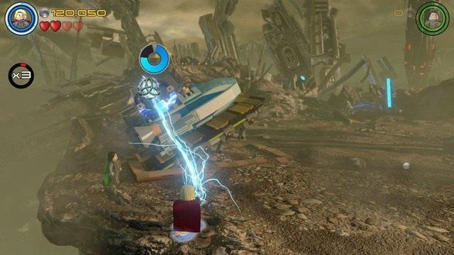 W tym momencie w grze może wystąpić mały błąd uniemożliwiający ci naładowanie generatora - Hen, w Aetherze - Opis przejścia - LEGO Marvels Avengers - poradnik do gry