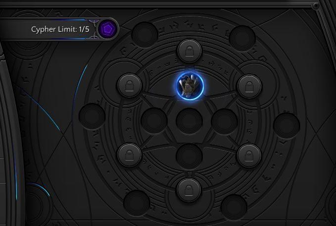 W ekwpinku znajdziesz dostępne enigmaty, wraz z opisem limitu ograniczeń systemu - Artefakty i enigmaty - Torment: Tides of Numenera - poradnik do gry