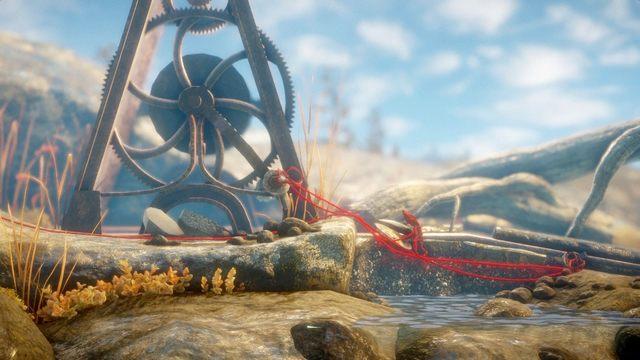 Kolejny krab broni twojego kłębka nici - Poziom 2 - The Sea - Opis przejścia - Unravel - poradnik do gry