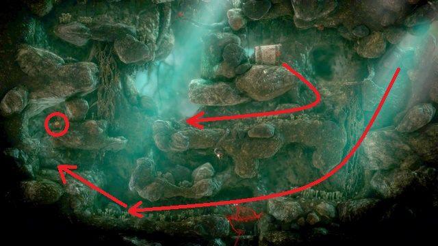 Znajdziesz się w grocie - Poziom 4 - Mountain Trek - Opis przejścia - Unravel - poradnik do gry