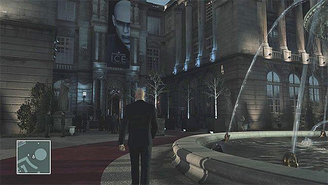 Goście mogą podróżować tylko po wyznaczonych częściach pałacu i jego ogrodów - Infiltracja pałacu | Paryż - The Showstopper - Hitman - poradnik do gry