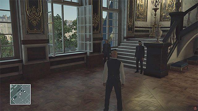 Pracownicy aukcji mogą wchodzić na poziom 3 - Infiltracja pałacu | Paryż - The Showstopper - Hitman - poradnik do gry