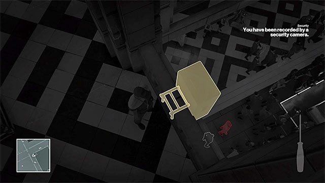 Udaj się w przebraniu na poziom 2 pałacu - Zamordowanie Viktora Novikova | Paryż - The Showstopper - Hitman - poradnik do gry