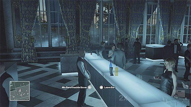 Ustaw się przy barze i przygotuj koktajl - Zamordowanie Viktora Novikova | Paryż - The Showstopper - Hitman - poradnik do gry