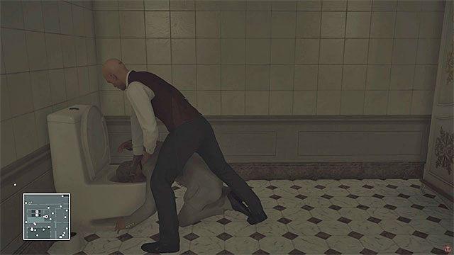 Zamorduj Novikova po tym jak dotrze do toalety - Zamordowanie Viktora Novikova | Paryż - The Showstopper - Hitman - poradnik do gry