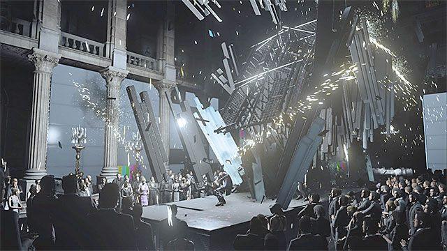 W wyniku ataku zginą wszystkie osoby przebywające na scenie - Zamordowanie Viktora Novikova | Paryż - The Showstopper - Hitman - poradnik do gry