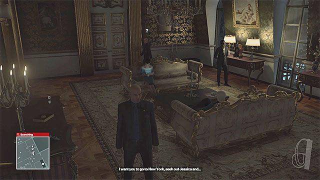 Do apartamentu Dalii mogą wchodzić jedynie ochroniarze - Zamordowanie Dalii Margolis | Paryż - The Showstopper - Hitman - poradnik do gry