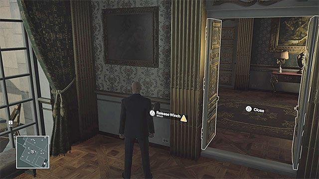 Możesz zrzucić żyrandol w biurze Dalii - Zamordowanie Dalii Margolis | Paryż - The Showstopper - Hitman - poradnik do gry