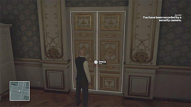 Wytrych pomoże ci zakraść się do apartamentu szejka - Zamordowanie Dalii Margolis | Paryż - The Showstopper - Hitman - poradnik do gry