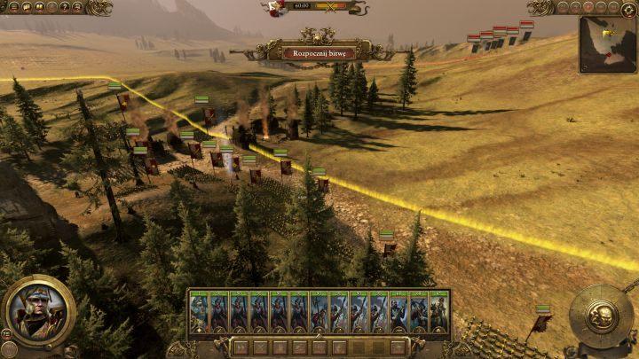 Podczas pierwszych starć będziesz mieć olbrzymią przewagę liczebną. - Kampania - opis przejścia i porady   Imperium - Total War: Warhammer - poradnik do gry