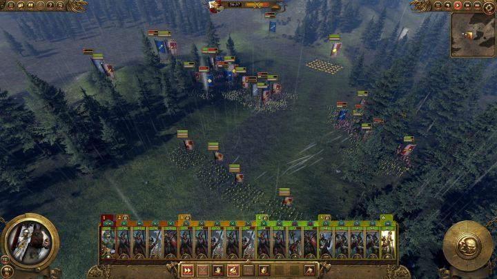 Bitwa o Helmgart rozgrywa się na polu walki wypełnionym lasami - wykorzystaj to. - Kampania - opis przejścia i porady   Imperium - Total War: Warhammer - poradnik do gry