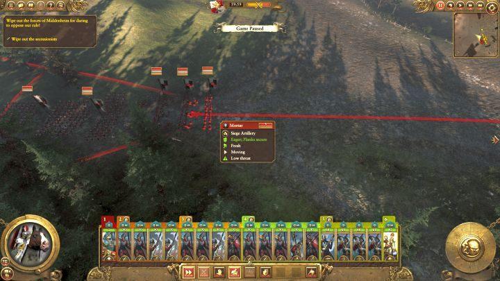 Wyeliminuj wrogą artylerię najszybciej jak się da. - Kampania - opis przejścia i porady   Imperium - Total War: Warhammer - poradnik do gry