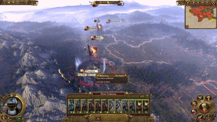 Wissenburg, jedna z ostatnich (na razie) osad do podbicia. - Kampania - opis przejścia i porady   Imperium - Total War: Warhammer - poradnik do gry